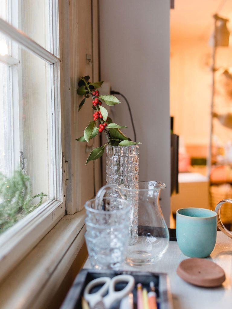 Ein Blick ins Büro von House of Klunkar. Einer der Wirkungsorte von Simone Angerer. Foto von Nina Bröll.