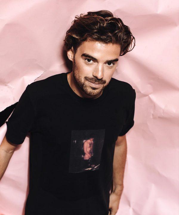 T-Shirt in schwarz von Fotografin Nina Bröll.
