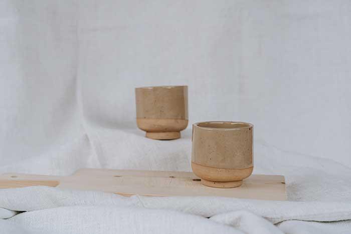 Keramik Becher Lydia.