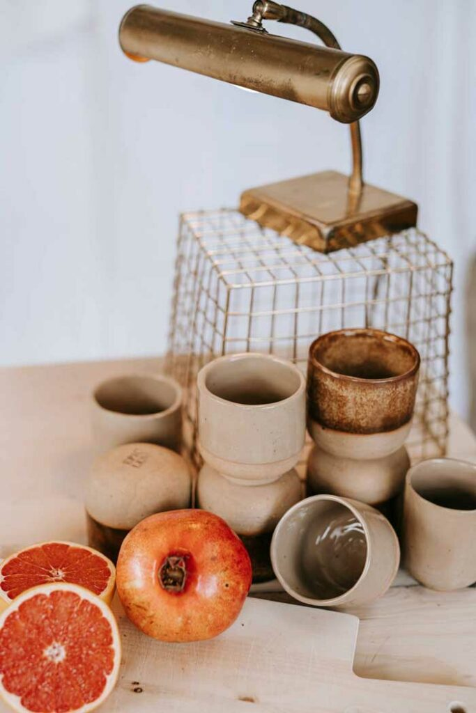 Setting mit Keramik Becher von Epic Leni